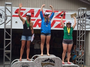 Karin Edwards 2nd Place Downieville All Mountain
