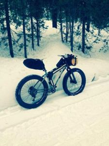 Blake's winter bike